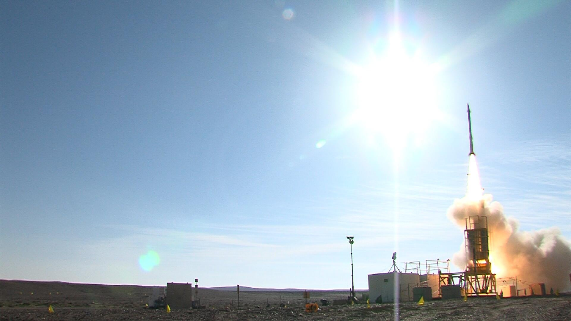 Israel Successfully Tests New Missile Defense Interceptor [Video]