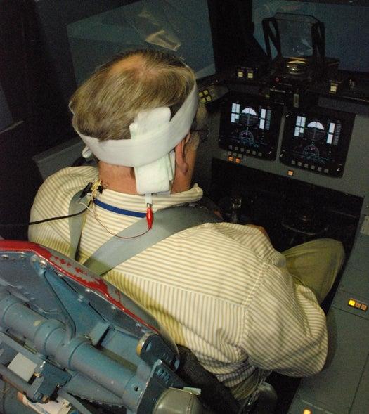Electrical Brain Stimulator Replicates Spaceflight's Gravitational Effects