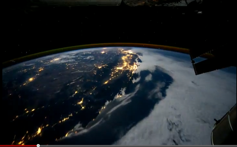 Time-Lapse ISS Video of Earth Lets You Orbit in HD