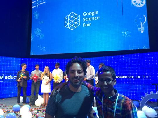 Young Inventor Ahmed Mohamed Meets Google's Co-Founder, Heads To White House
