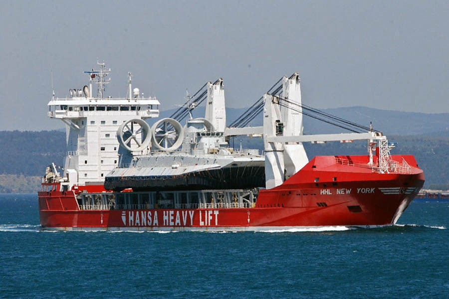 Mission From Crimea: 2nd Zubr Hovercraft Delivered To China