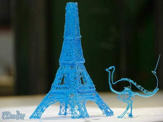 3-D-Printing Pen Adds Dimension To Your Doodles