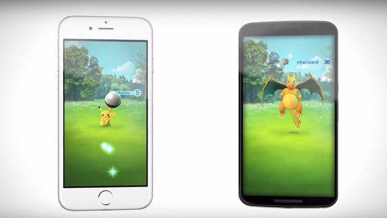 Pokémon Go Gameplay Has Been Revealed