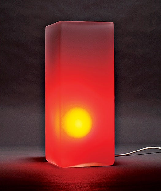 Build It: An LED Lamp that Visualizes Data From the Web