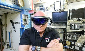 Astronauts Start Using Hololens On Space Station