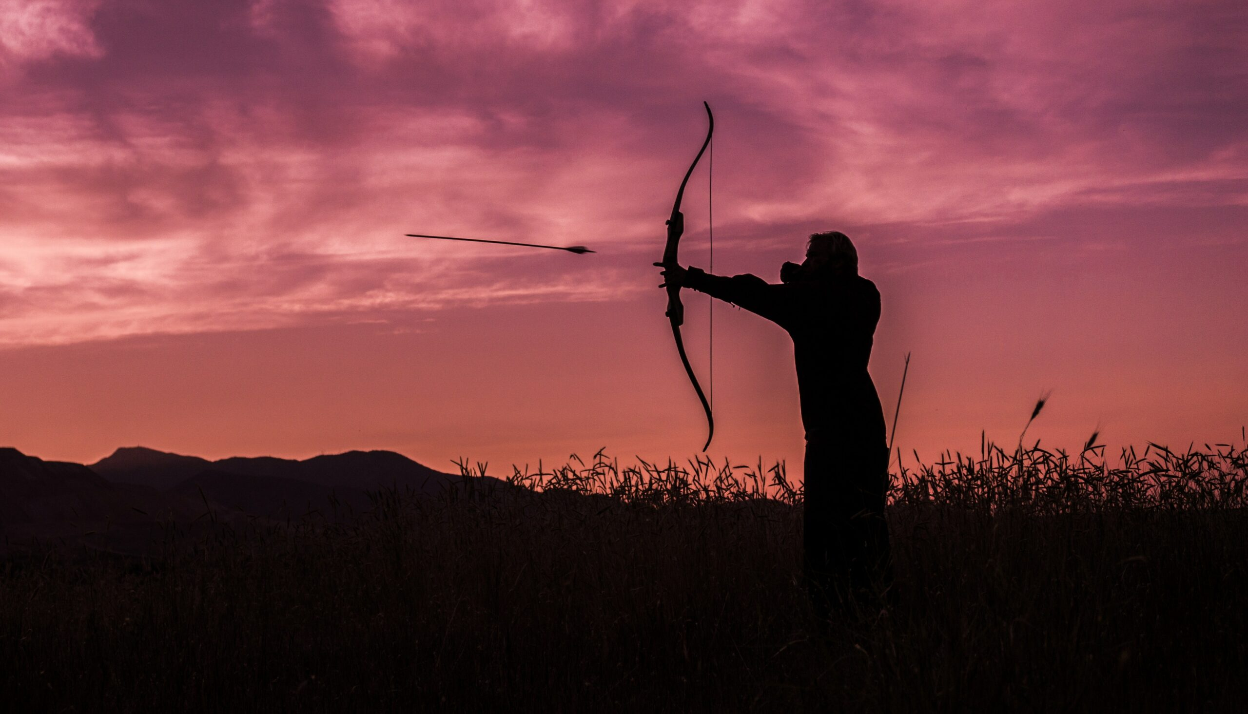 hunter gatherer bow arrow