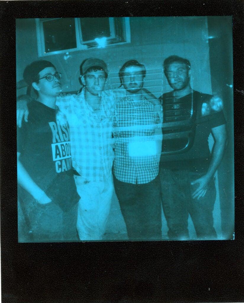 Polaroid Onestep+ sample negative group