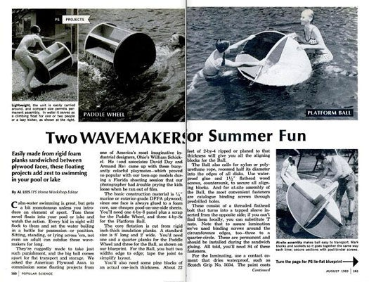 Wavemakers: August 1969
