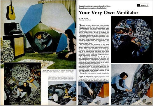 Your Very Own Meditator: November 1970