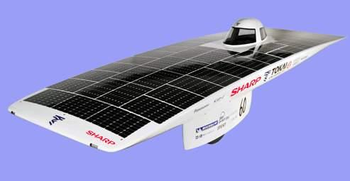 Japanese Team Crosses Australia, Takes Solar Car Challenge