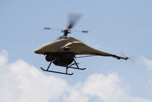 A Texas Sheriff's Department is Launching an Unmanned Helodrone that Could Carry Weapons