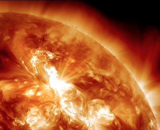 A Massive Solar Eruption, the Strongest in 7 Years, Has Earth Bracing for a Radiation Storm