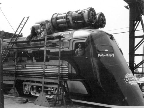 Video: A Jet-Powered Train That Made History