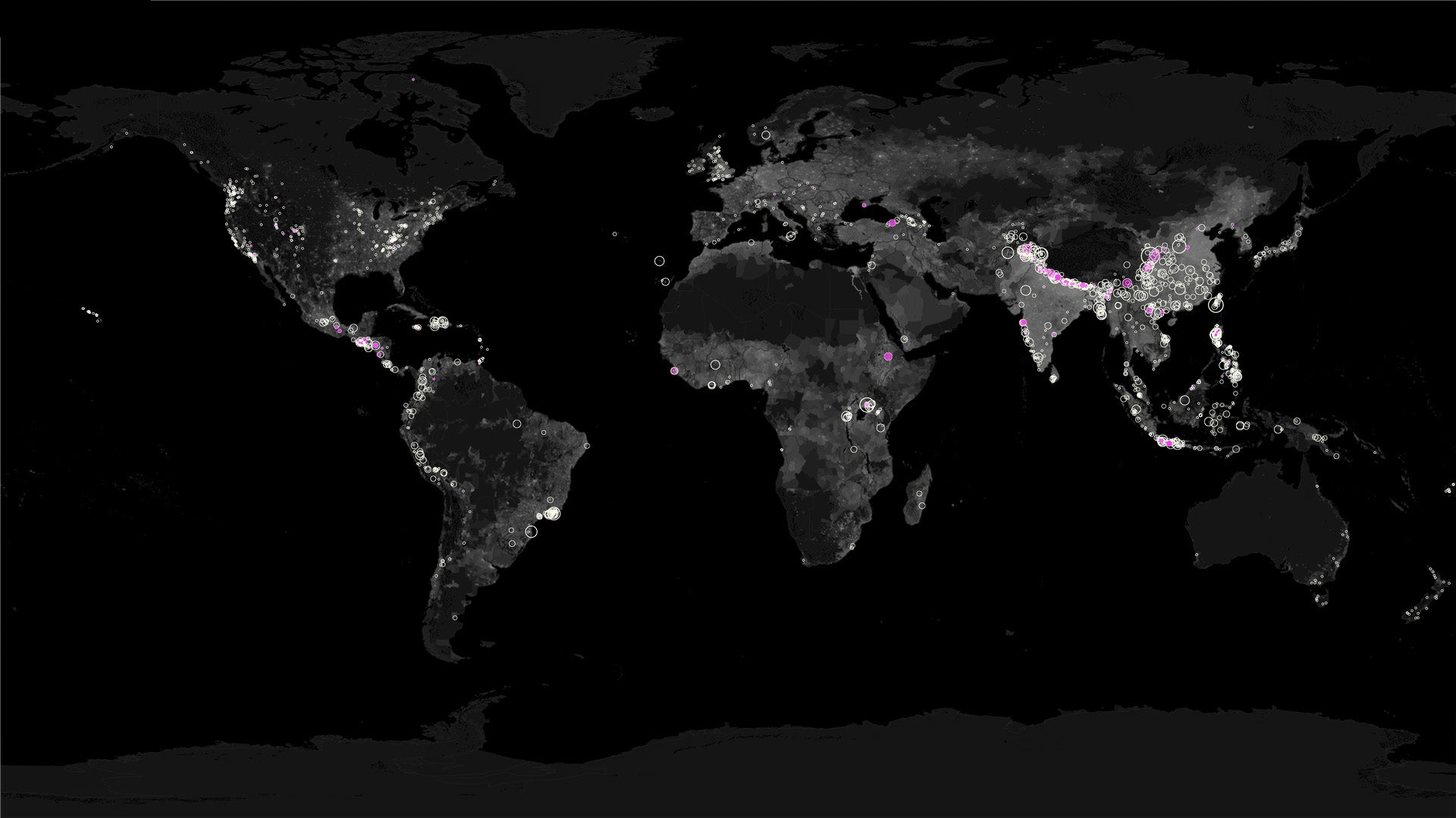 See Every Landslide Caused By Rain Since 2007