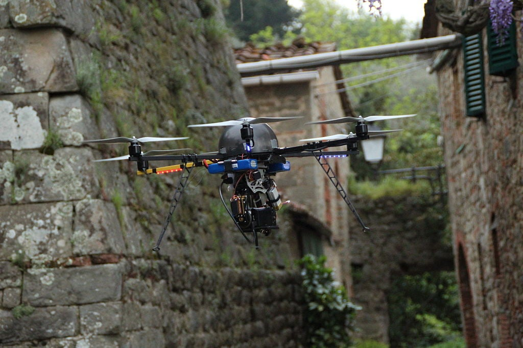The Week In Drones: Lollapalooza Lollygaggers, Archaeology Aids, And More