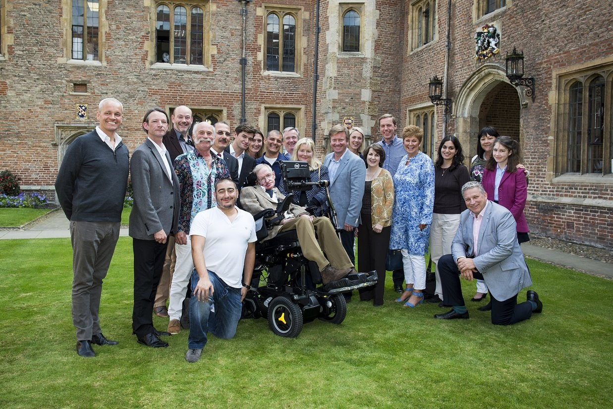 Can Stephen Hawking Bring Back Virgin Galactic?