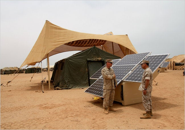 U.S. Military Aims to Use 50 Percent Renewable Energy Within Ten Years