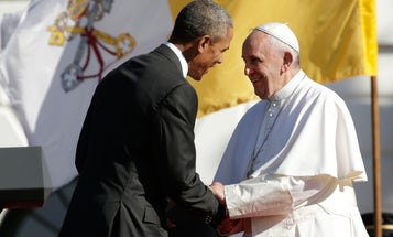 Pope Backs Climate Change Action In White House Remarks