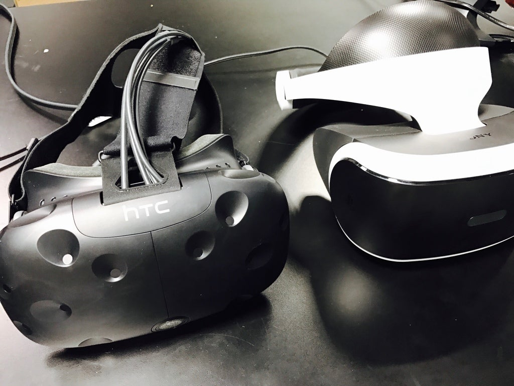 HTC Vive and Playstation VR