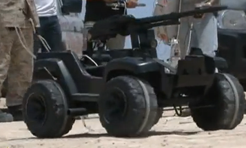 Video: Using Scraps and Salvaged Parts, Libyan Rebels Turn Toys Into Robo-Warriors