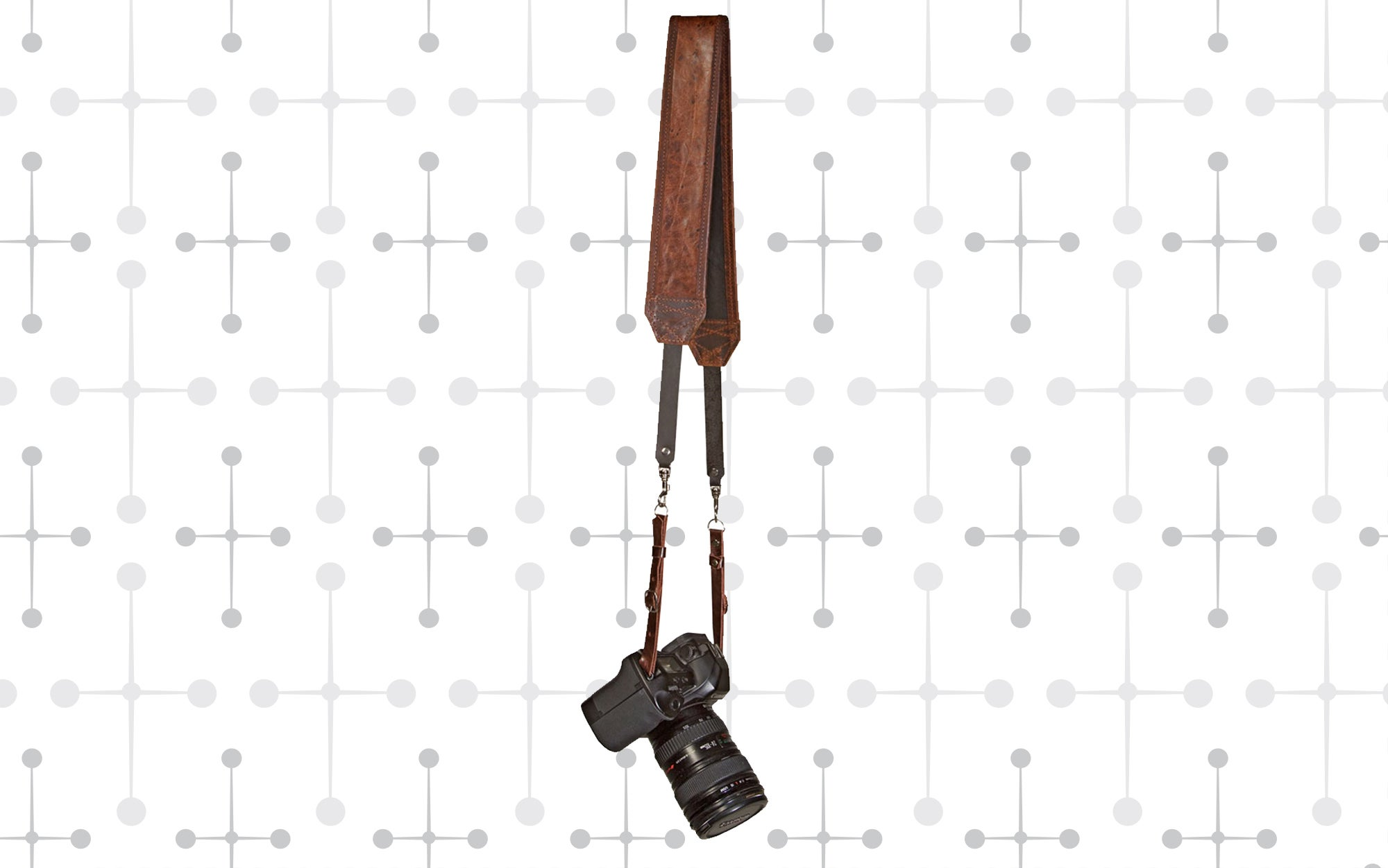 Heavy Leather NYC Classic Leather Camera Strap
