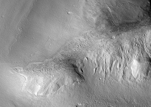 "Martian ""Debris Aprons"" Are Full Of Water"