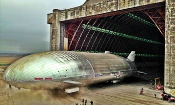 Aeroscraft Shows Off Its Giant Airship