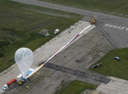 Record-Breaking Skydive Attempt Fails Again
