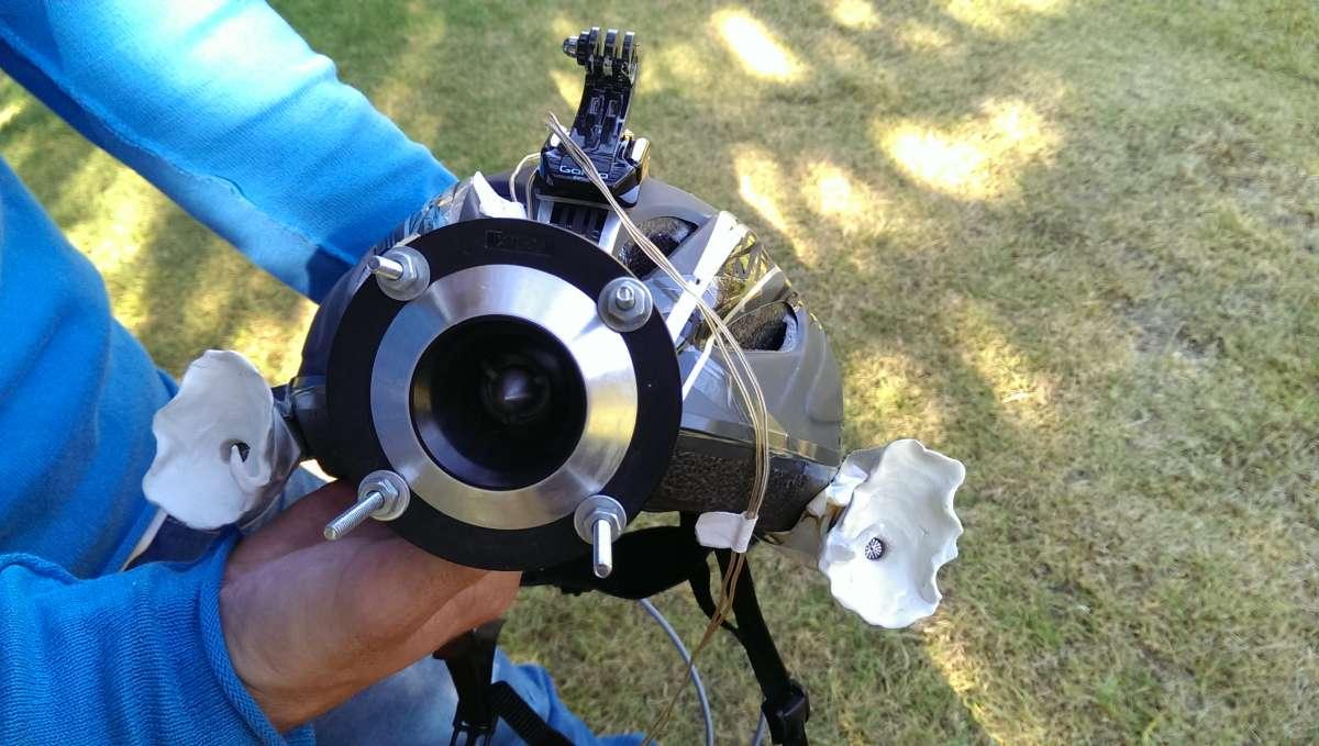 Ultrasonic Helmet Lets Anyone 'See' Like A Bat
