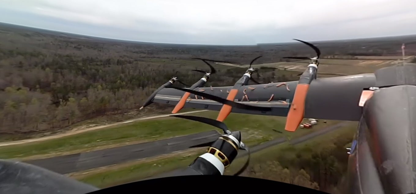 Watch NASA's Greased Lightning Drone Fly In 360 Degrees