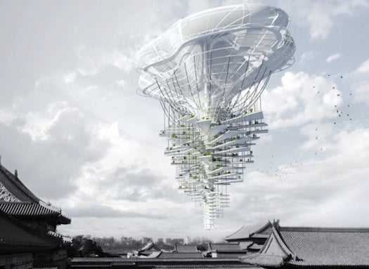 15 Incredible Images Of Futuristic Skyscrapers