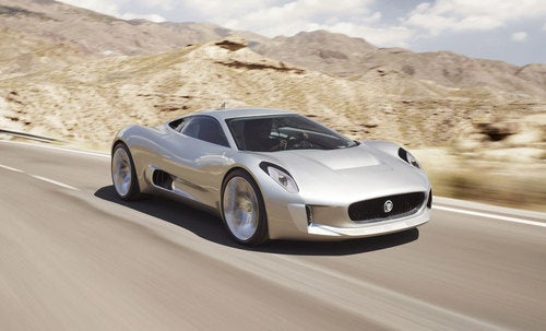 Jaguar's C-X75 Concept: A 205MPH Electric Supercar
