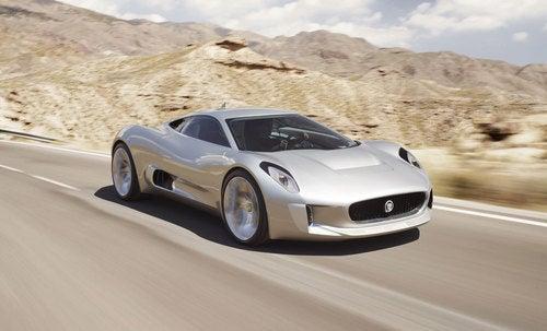 Jaguar's C-X75 Concept: A 205MPH Electric Supercar