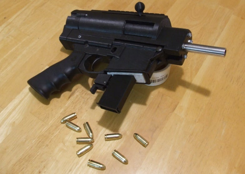 The 3D-Printed Semi-Automatic Gun Is Almost Here