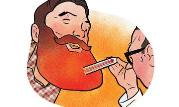 Do Beards Keep Men Warm?