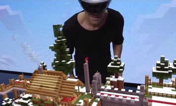 Microsoft Unveils Holographic Minecraft at E3 Demo