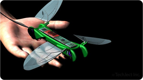Fund A Tiny Robotic Dragonfly