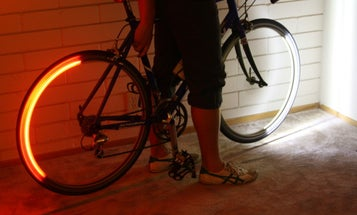 Light-Up Bike Wheels Help Cyclists See the Road, and Help Motorists See the Bikes