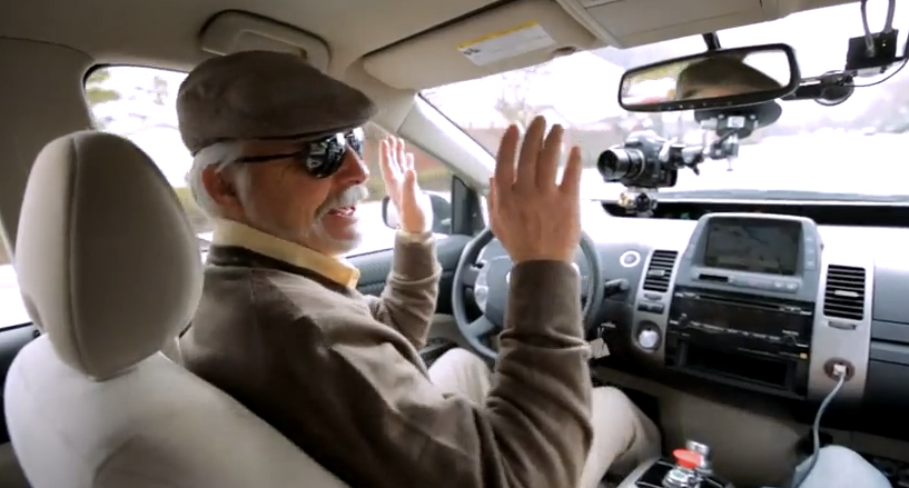 Video: Blind Driver Takes Google's Autonomous Car for a Spin