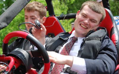 Blind Drivers Get Behind the Wheel of Terrain-Scanning Car