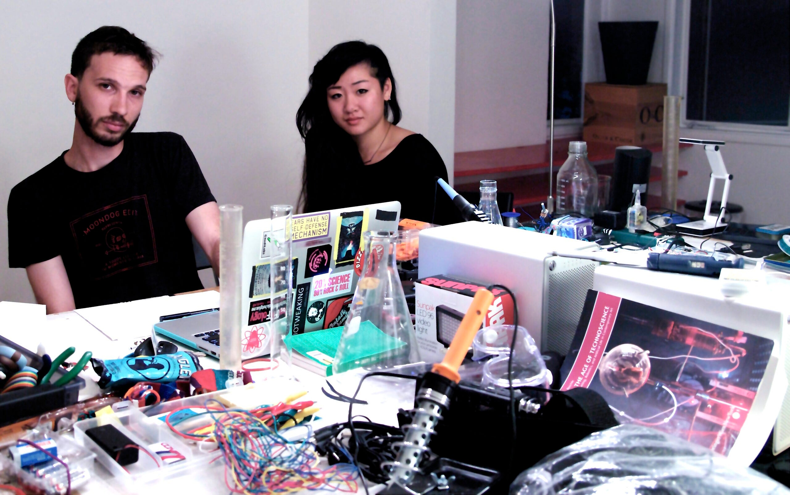 On the Road Documenting Bioartists and Biohackers