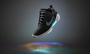 Nike's Self-Lacing Shoes Are Here: Meet The HyperAdapt