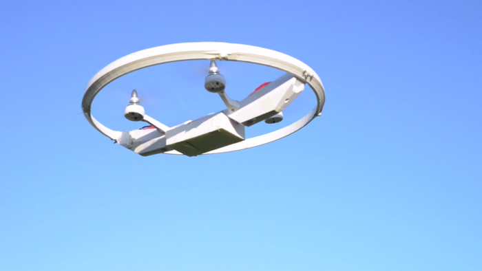 Play Contact-Free Football, Soccer, And More With This Sports Drone