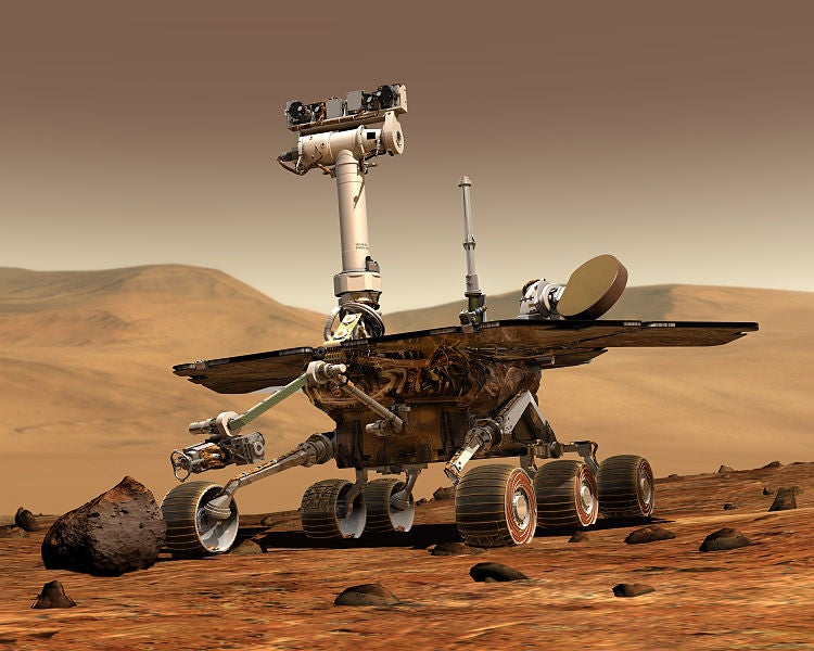 Mars Rover Opportunity Throws Itself Into Standby Mode