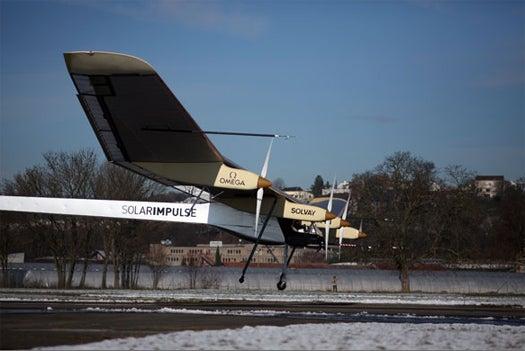 Swiss Team Achieves First-Ever Manned Solar Plane Flight