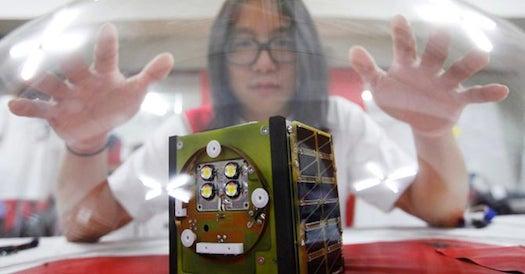 South Korean Artist Prepares to Launch His Homemade Satellite Into Orbit