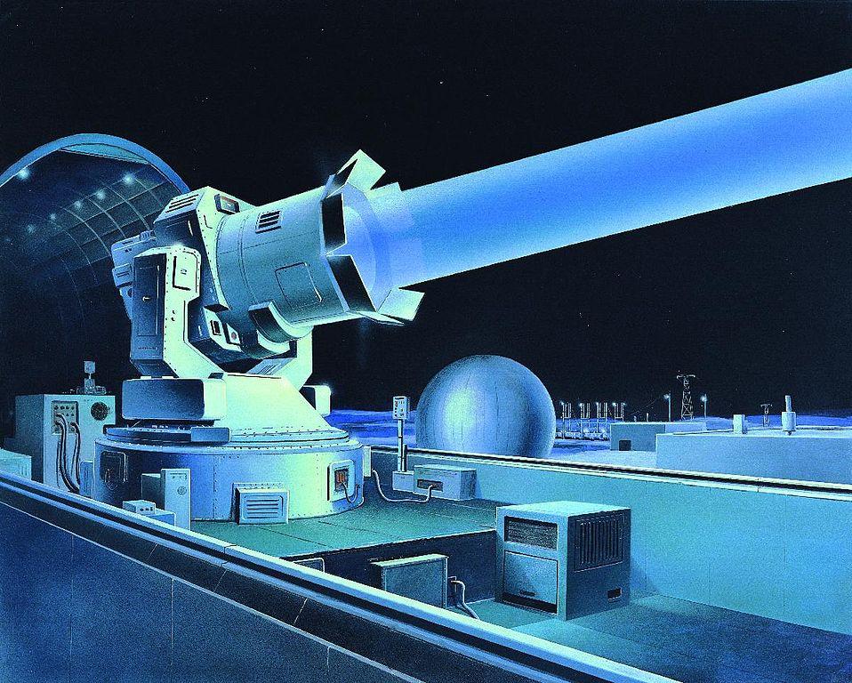 American Concept Art Of Soviet Laser