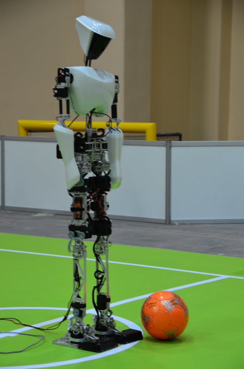 American Soccer Robots Dominate at the World RoboCup 2011