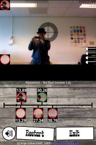For New Multiplayer AR Game, Smart Phones Connect to Each Other Without a Cell Network