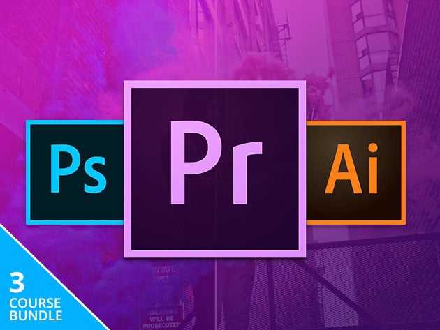 Learn the essentials of Adobe's Creative Cloud via three in-depth courses